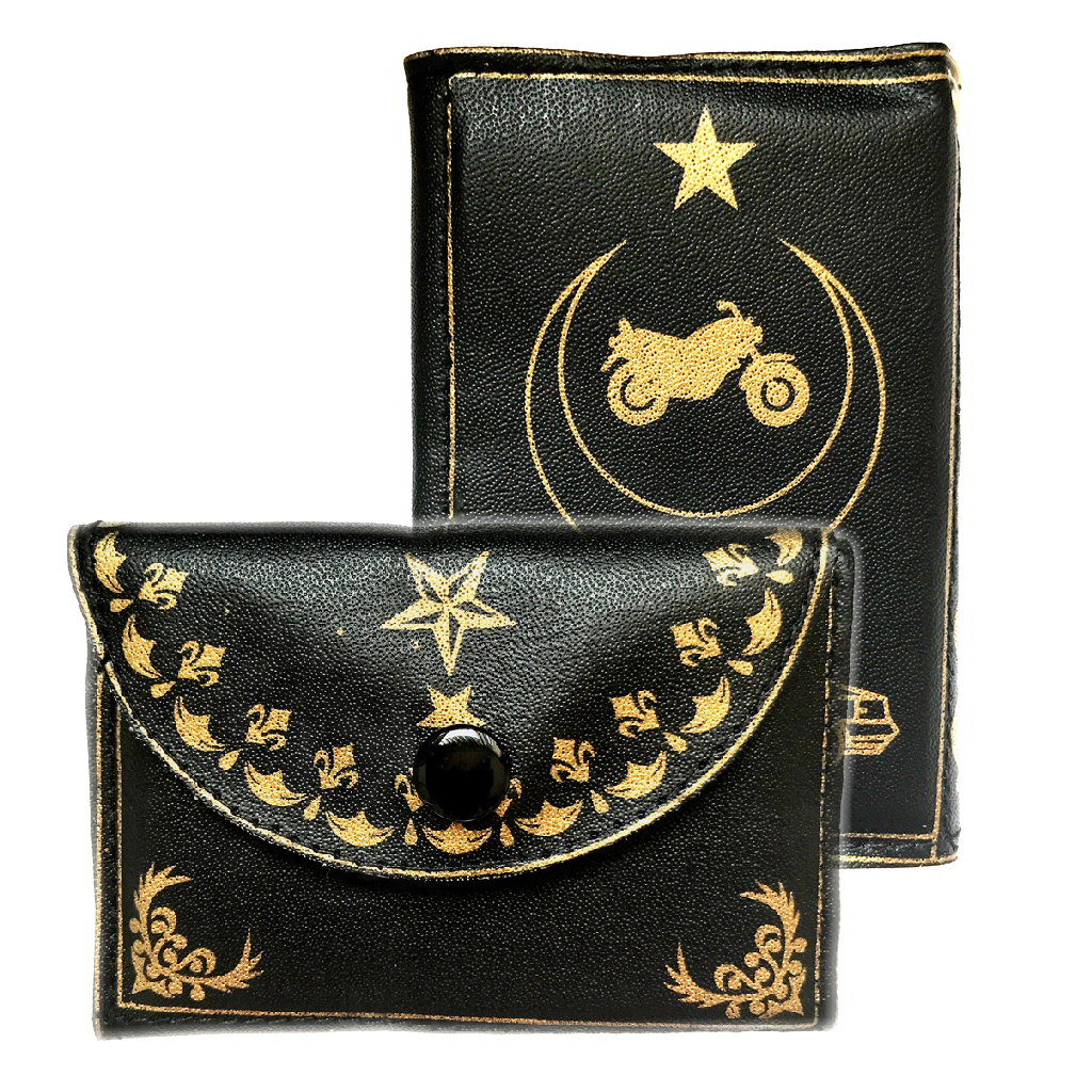 Wallet Taweez with Islamic Mystical Symbols and Sacred Arabic Writings to Boost Confidence whilst Driving