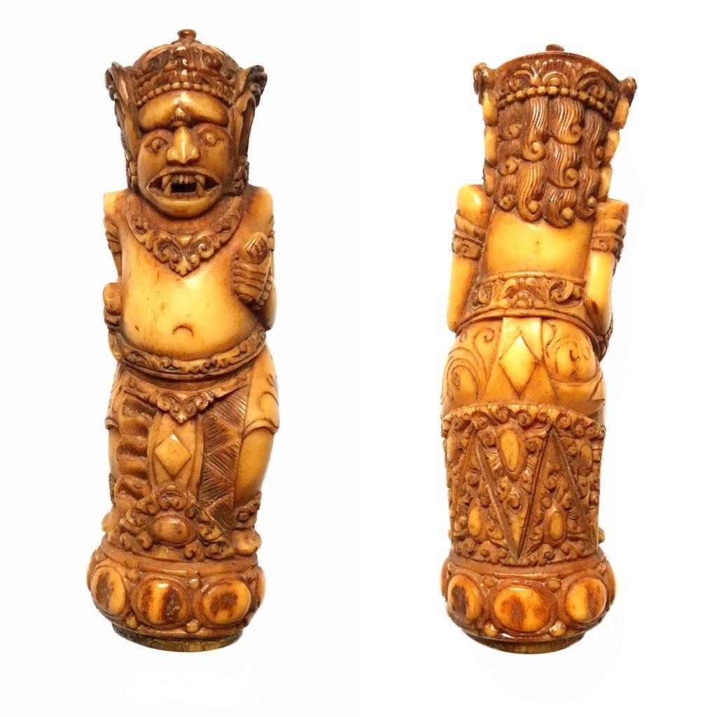 Benevolent Bali Bhūta Demon Spirit Bone Effigy