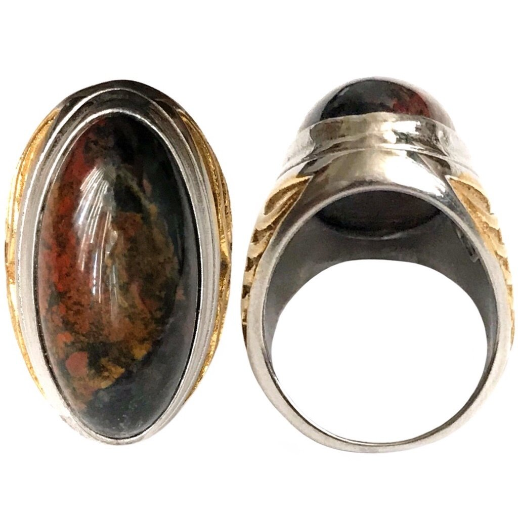 Occultic Sunda Jasper Ring to Reduce Risks and Optimize Opportunities in Entrepreneurial Efforts