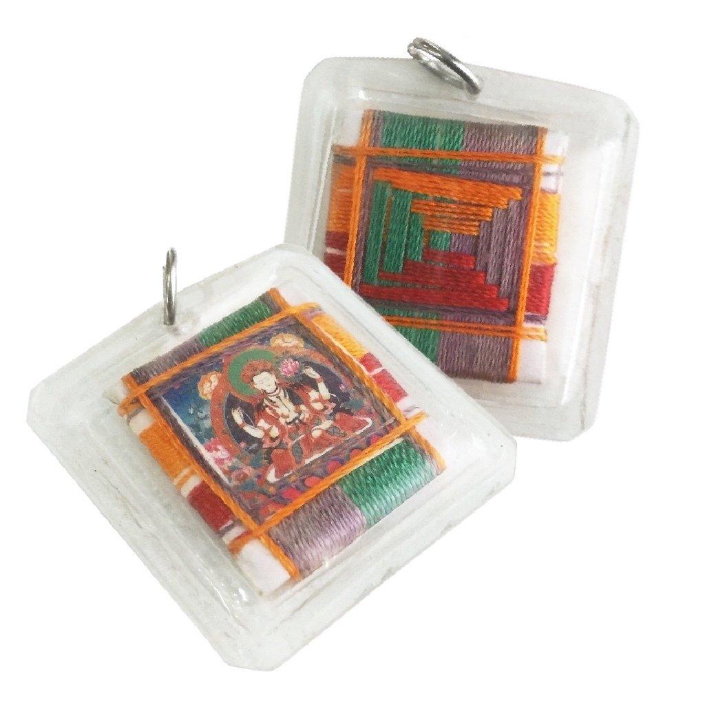Chenrezig Amulet of the Compassionate Bodhisattva Avalokitesvara who Sees and Helps All