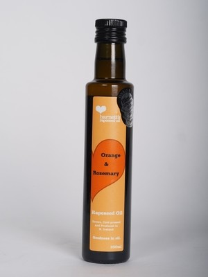 Harnett's Orange and Rosemary Rapeseed Oil 250ml