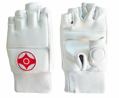 Перчатки для каратэ Киокуcинкай (натуральная кожа) Вид 3