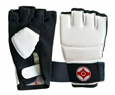 Перчатки для каратэ Киокуcинкай (натуральная кожа) Вид 1