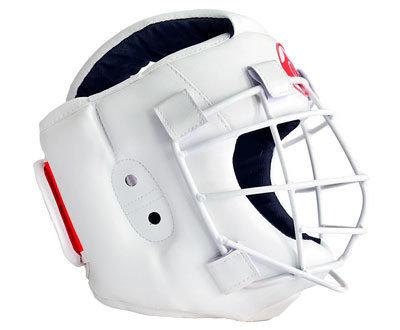 Шлем для рукопашного боя со съемной маской Атлант-2 (натуральная кожа)