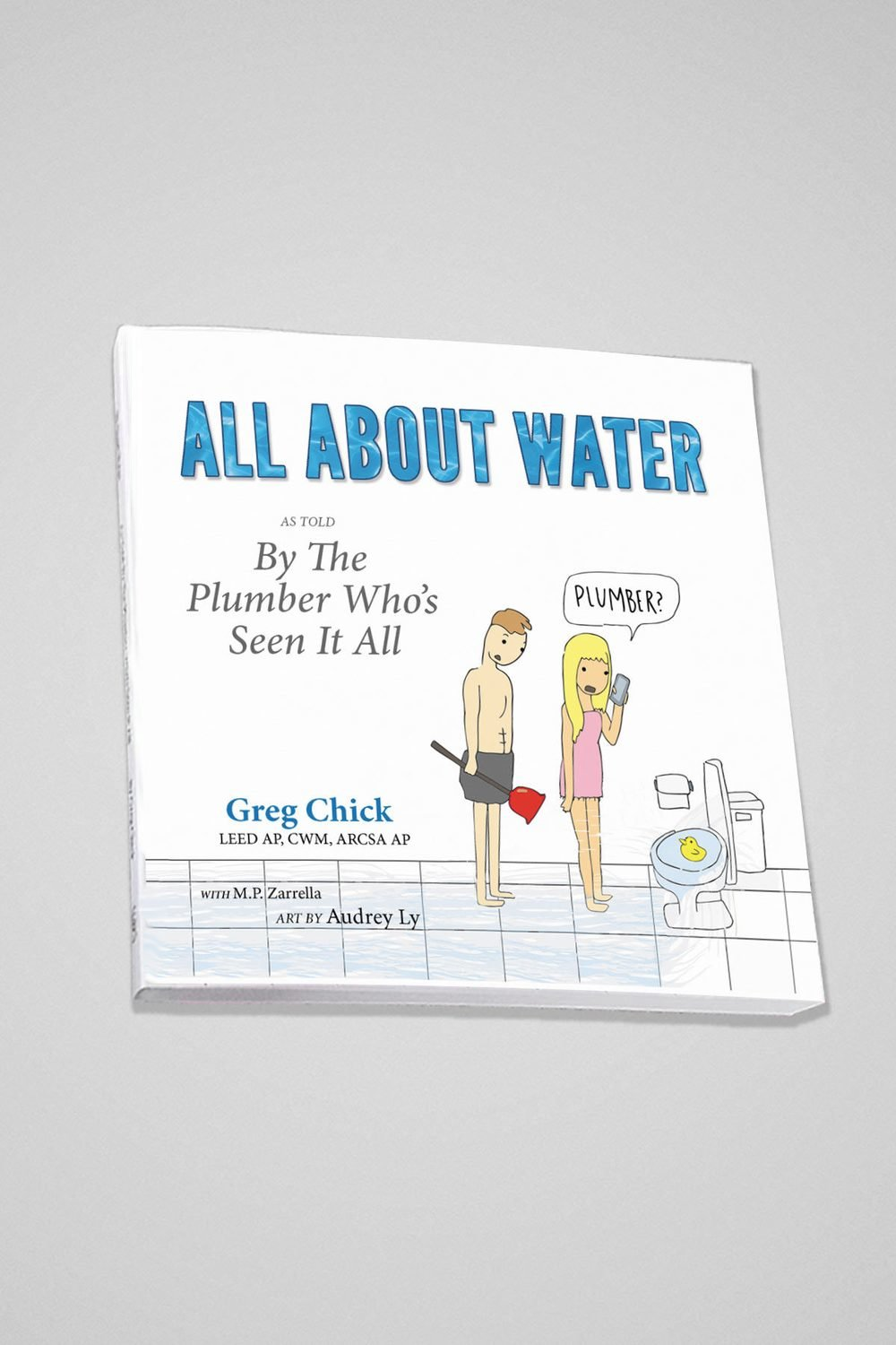 All About Water Paperback Book