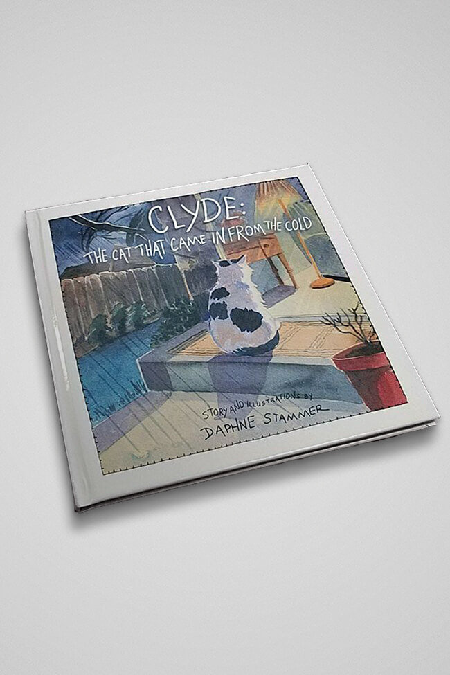 Clyde The Cat That Came In From The Cold   Hardcover