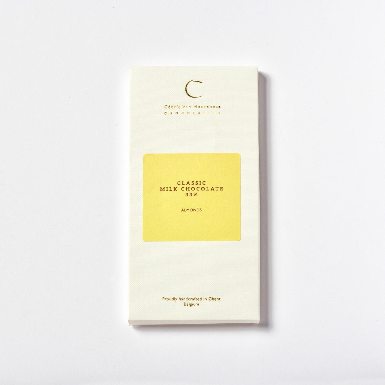 Almonds & Classic milk chocolate 33%