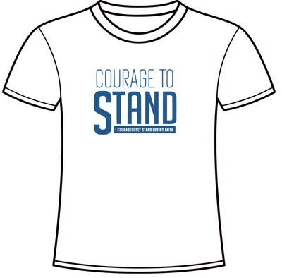 Courage To Stand T-Shirt (WHITE)