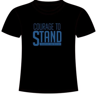 Courage To Stand T-Shirt (BLACK)