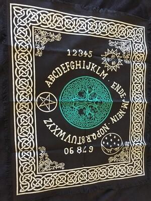 Spirit Board/Pendulum Reading Cloth Mat