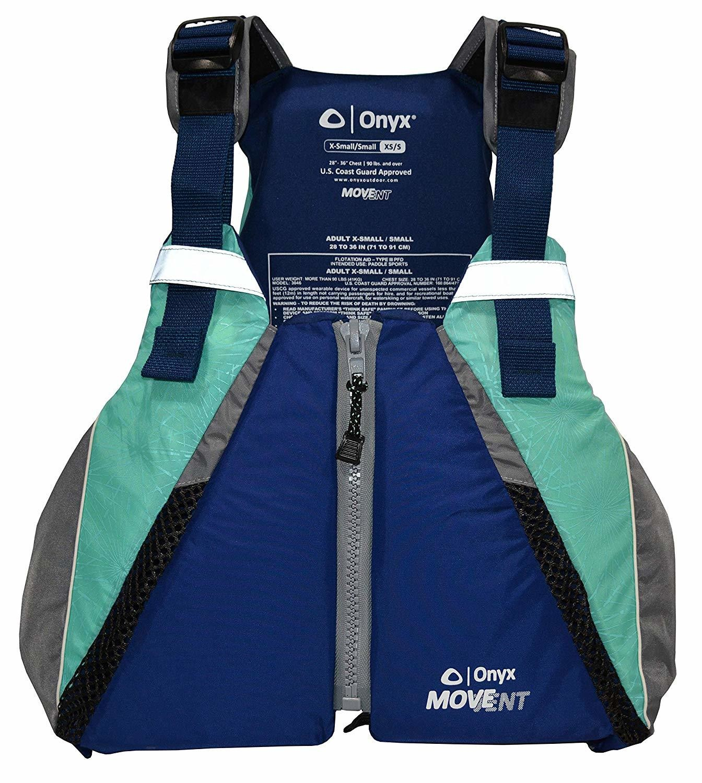 Onyx Blue Teal Paddle Vest