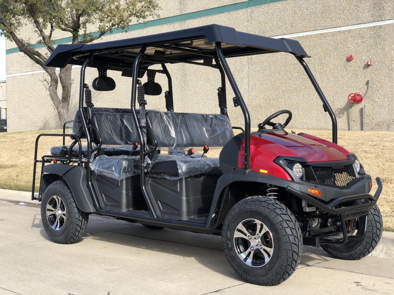 Cazador 400 EFI  4x4 ( 4 Person) UTV Golf Carts