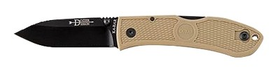 KaBar Dozier Folding Hunter Coyote Brown