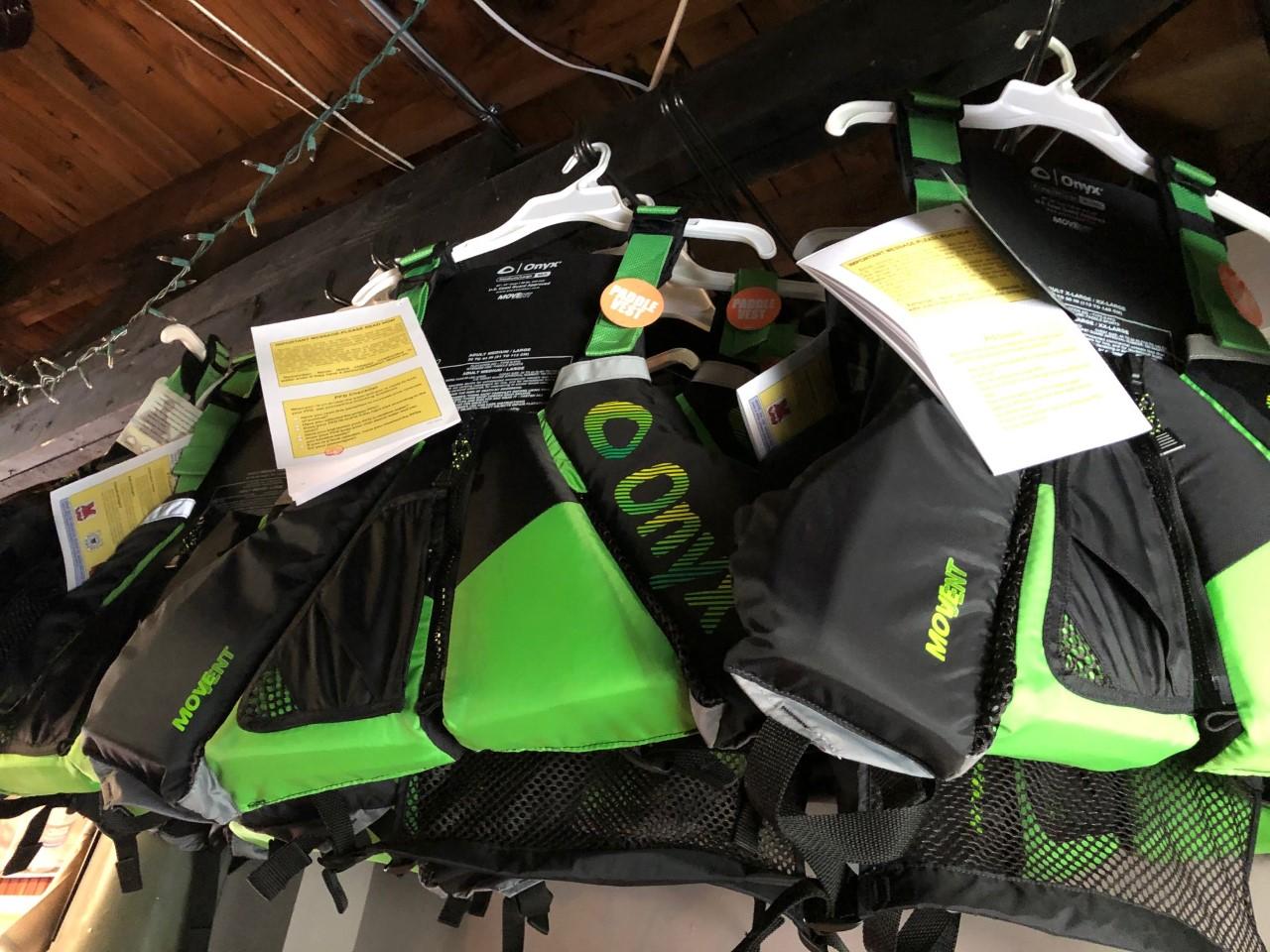 Onyx Paddle Vest Green PFDl/2xl