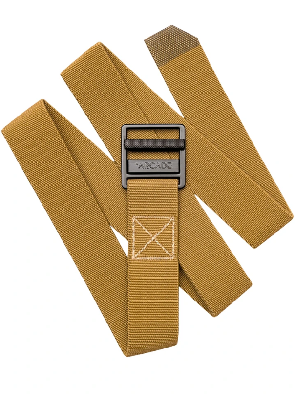 Arcade Guide Belt Metal Brown