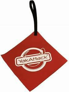 Yakattack Get Hooked Tow Flag