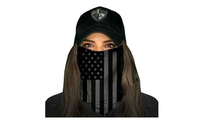 Appout Face Shield Blackout American Flag