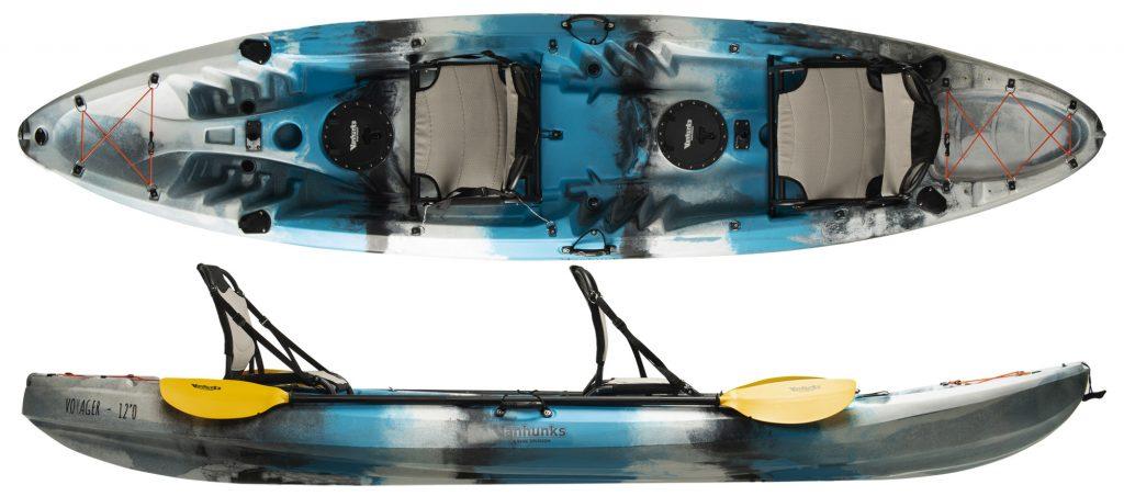 Appoutga Voyager 120 Tandem Fishing Kayak