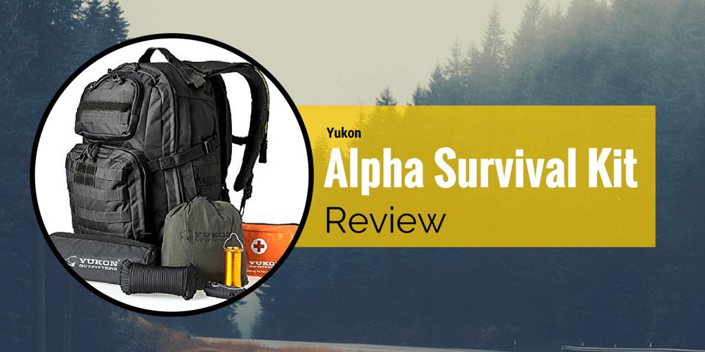 Yukon Outfitters Alpha Survival Kit (Black)