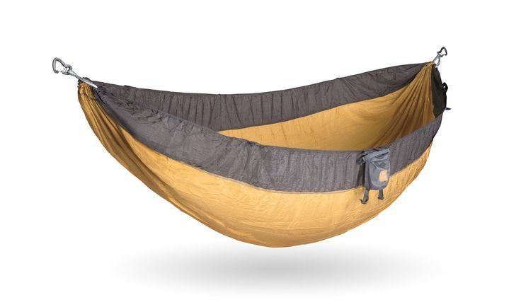Yukon Outfitters Double Patriot Hammock Grey/Gold