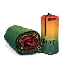 Rumpl The Original Printed Puffy Blanket Festi Fade Black/Black