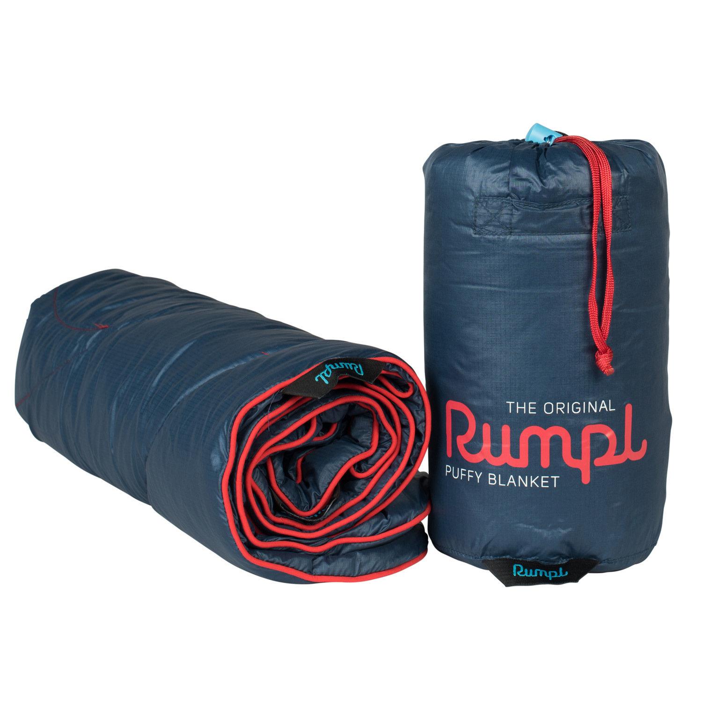 Rumpl The Original Puffy Blanket Jr. Deepwater Blue