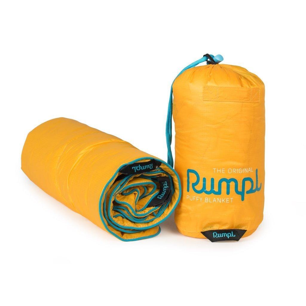 Rumpl The Original Puffy Blanket Jr. Maize Yellow