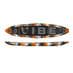 Vibe Maverick 120 SUP Angler Package Orange Camo **** Store pickup only No Shipping ****