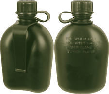 Genuine G.I 3 pc. Olive drab 1 qt. Canteen with clip 610