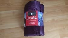 Double Black Diamond Packable Down Throw Wild Plum