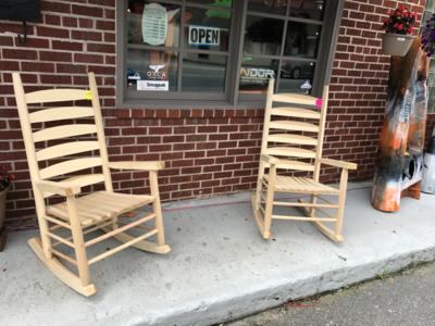 Hamilton Wood Rocking Chairs