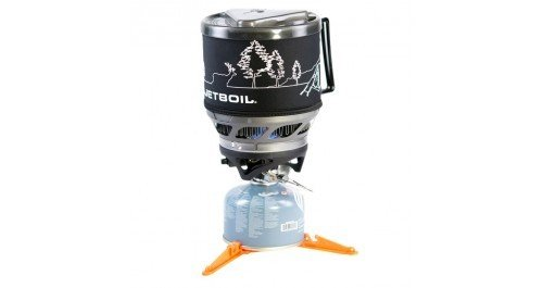 Jetboil MiniMo Cooking System - Carbon w/ Line Art