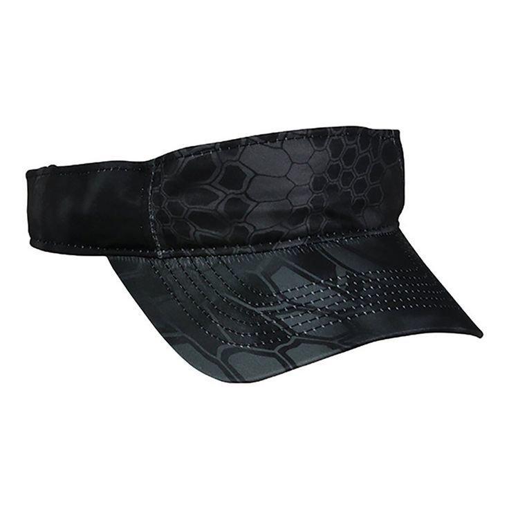 Kryptik Typhoon Camo Cooling Hats (Brown)