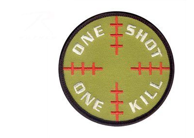 Rothco One Shot One Kill Patch