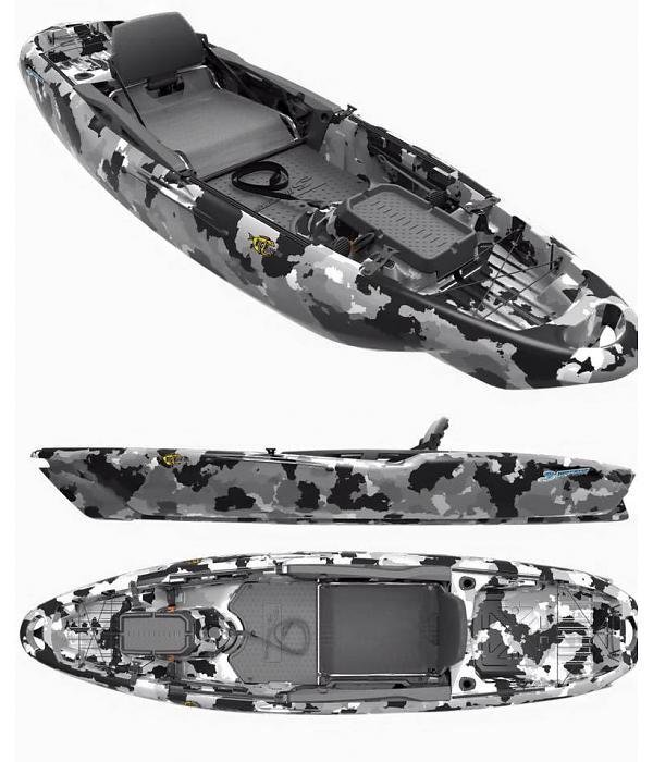 3 Waters Big Fish 105 Urban Camo