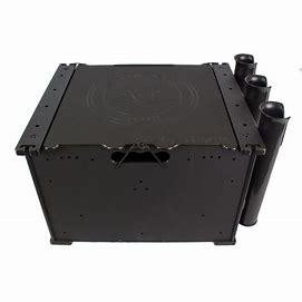 Yak Attack BlackPak™ Kayak Fishing Crate - Black