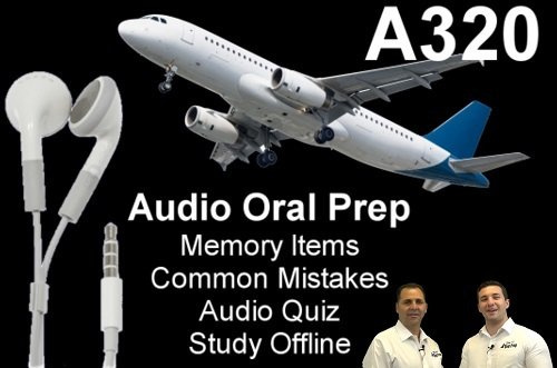 A320 Audio Oral Prep App