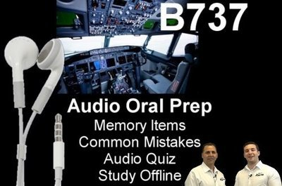 B737 Audio Oral Prep App