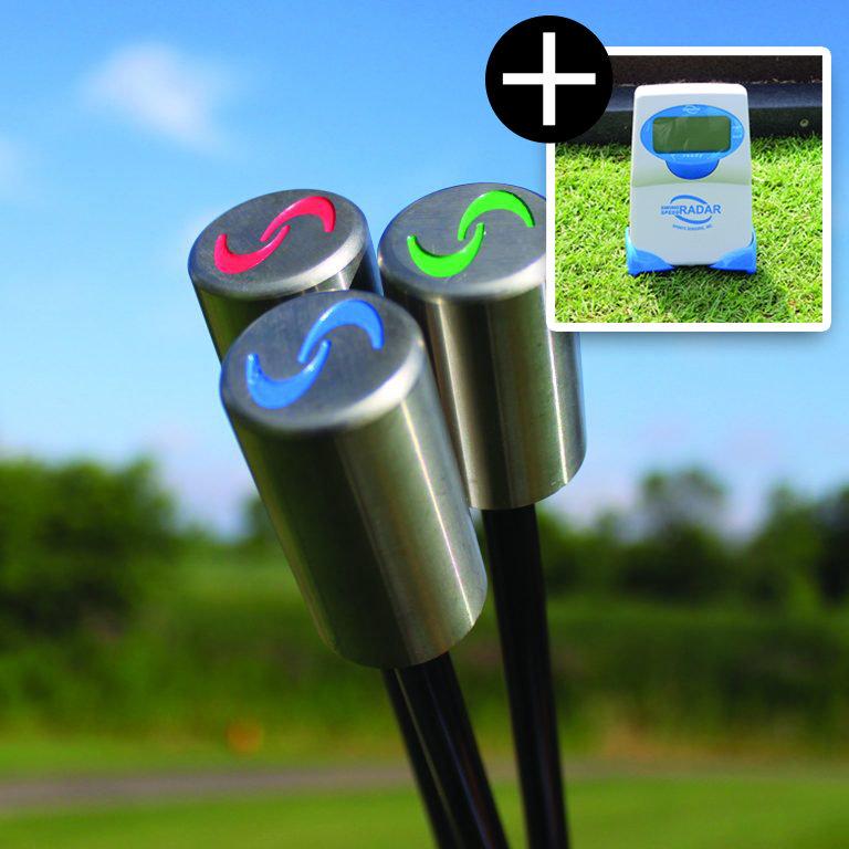Superspeed Golf avec Swing Speed Radar