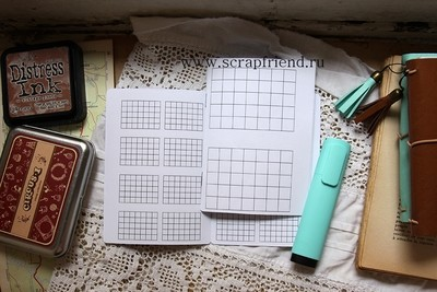 Printables Trackers for notebook A6
