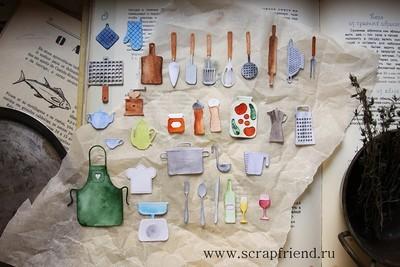 Набор ножей для вырубки Гретта, 34 штуки, Scrapfriend