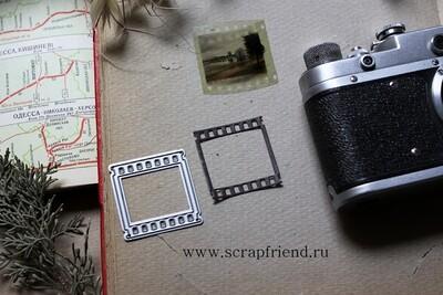 Die Film, 3,5x3,5 cm, Scrapfriend