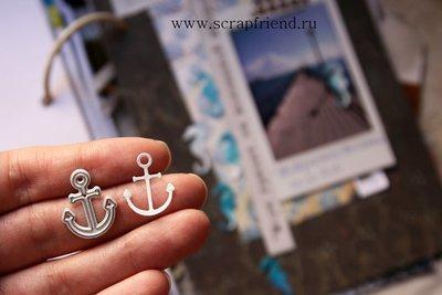 Die Anchor, 1.8x2 cm, Scrapfriend
