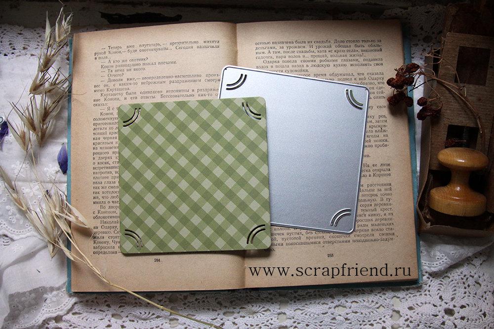 Die Cedric: a mat for photo 10x10cm, Instasize, Scrapfriend
