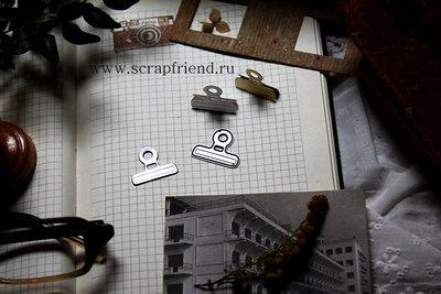 Нож для вырубки Зажим, 2,3х1,8см, Scrapfriend