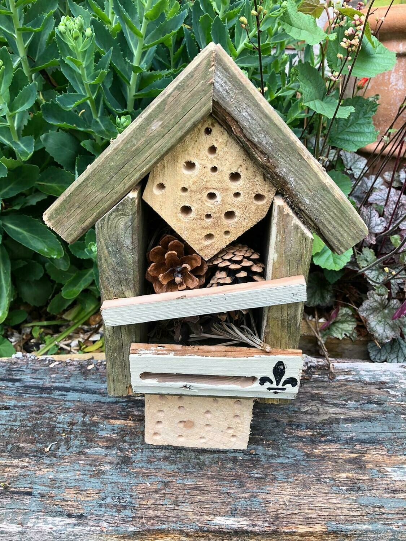 Handmade Tudor style Solitary Bee & Bug House
