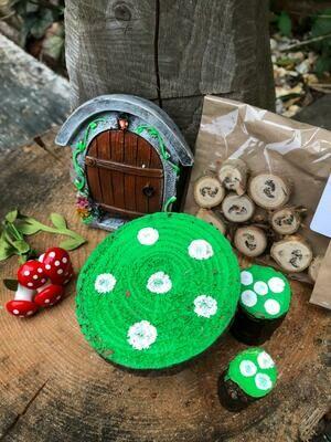 Handmade Fairy Garden Gift Set