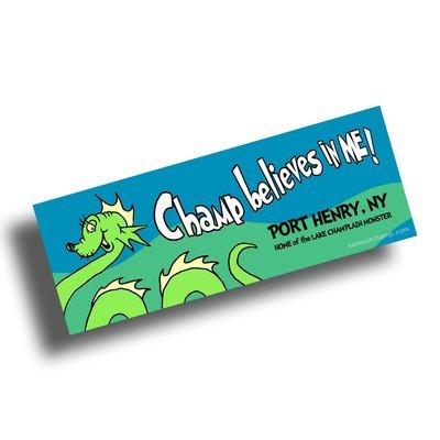 Champ Believes in Me! Bumper Sticker