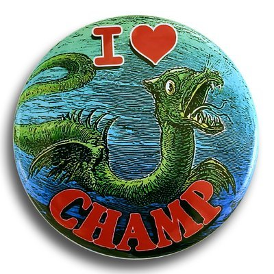"I Heart Champ 2.25"" Round Magnet"