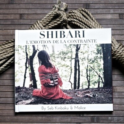 LIVRE PHOTOS - SHIBARI L'EMOTION DE LA CONTRAINTE